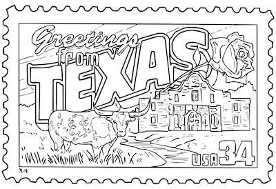 Mr Nussbaum Usa United States 50 States Postage Stamps Coloring Pages Activities