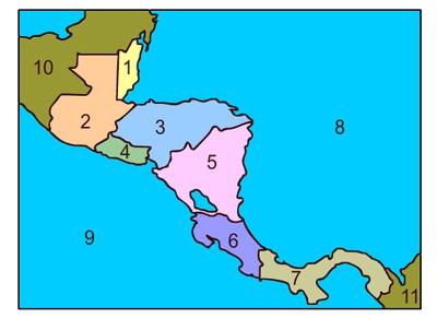 Mr. Nussbaum - Central America Map Quiz - Online