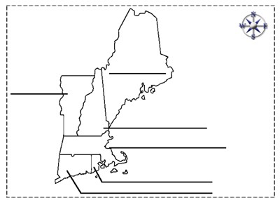 photograph relating to Printable Map of New England known as Mr. Nussbaum United states Machusetts Pursuits