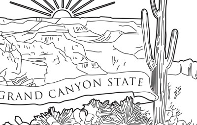 nevada state symbols coloring pages - Clip Art Library | 255x400
