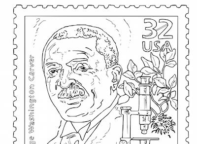Mr Nussbaum Harriet Tubman United States Postage Stamp Drawing