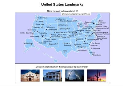 Mr. Nussbaum - United States Capital Cities Interactive Map
