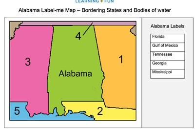 Map Of Georgia And Surrounding States.Mr Nussbaum Usa Maps Label Me And Map Quizzes Activities