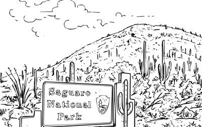 Desert Coloring Pages - Best Coloring Pages For Kids | 253x400
