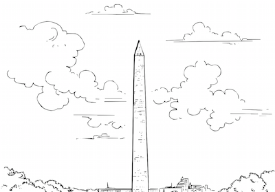 Jefferson Memorial coloring page | Free Printable Coloring Pages | 279x400