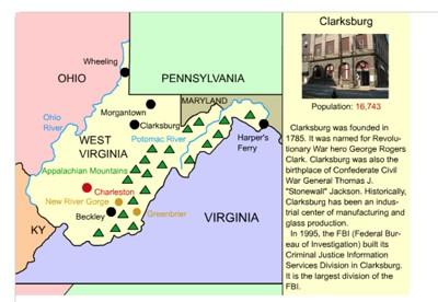 Mr. Nussbaum - West Virginia Outline Map