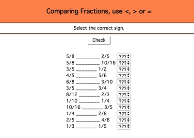Mr  Nussbaum Math Fractions Activities