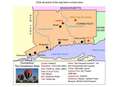 Mr. Nussbaum - Connecticut Map Quiz