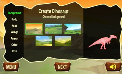 Mr  Nussbaum - Dinosaur Maker - Online