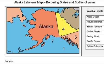 Mr. Nussbaum USA Maps - Label-me and Map Quizzes Activities