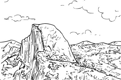 California Redwood Coloring Page - Coloring Pages For All Ages ... | 265x400
