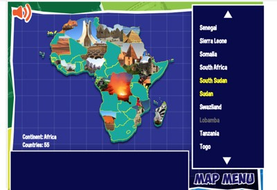 Map Of Asia Review Game.Mr Nussbaum Geography Activities
