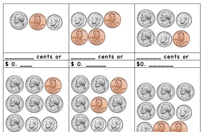 graphic about Printable Quarters referred to as Mr. Nussbaum - Operating with Quarters, Dimes, Nickels, and