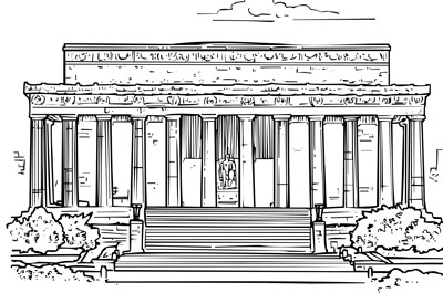 President's Day coloring page: Washington Monument coloring page ... | 265x400