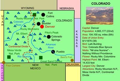 Mr. Nussbaum USA Colorado Activities on