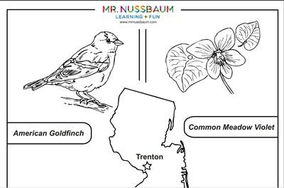 Mr Nussbaum New Jersey State Symbols