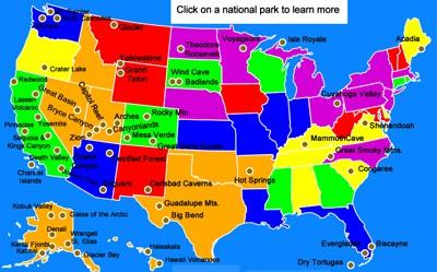 Mr. Nussbaum USA National Parks Activities