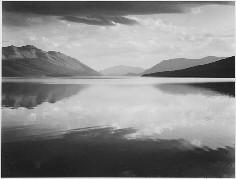 Glacier National Park by Ansel Adams