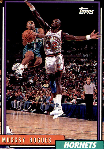 Muggsy Bogues Card