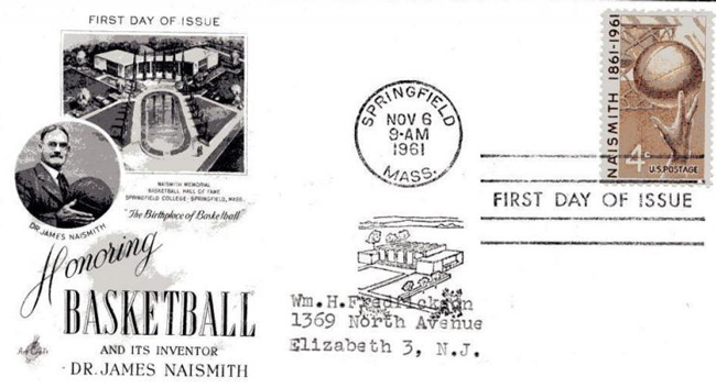 James Naismith First Day Cover