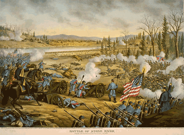 Battle of Stones River, Tennessee
