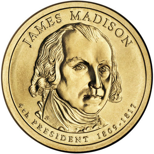 James Madison $1 Coin