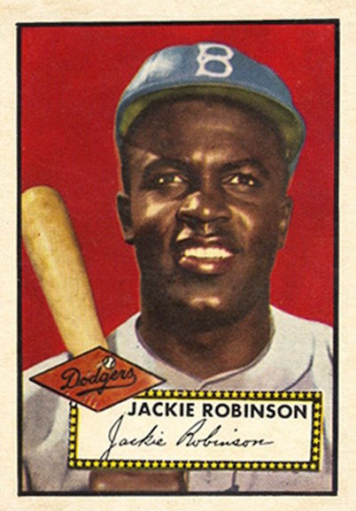 Jackie Robinson 1952 Topps