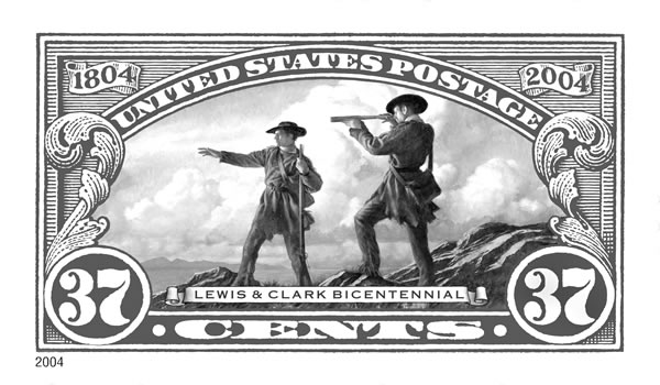 Lewis and Clark Stamp