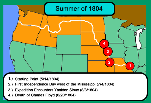Lewis and Clark Summer of 1804