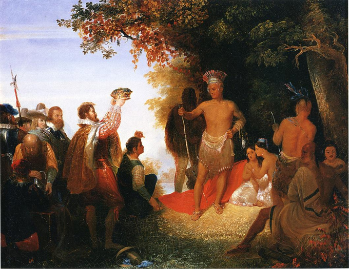 The Coronation of Powhatan