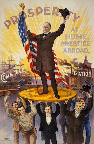 William McKinley Re-election Poster