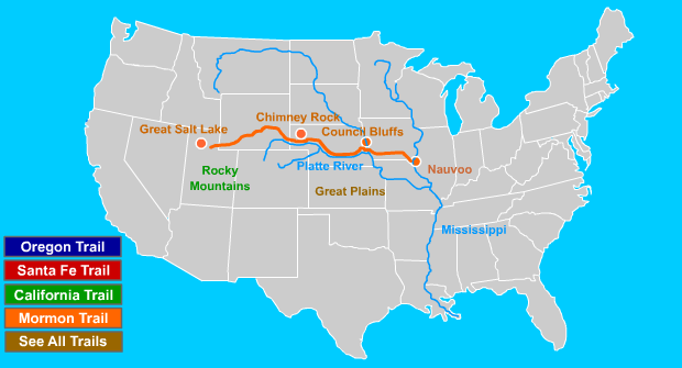 MormonTrail Map