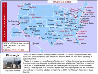 Mr. Nussbaum USA United States and World Cities Activities